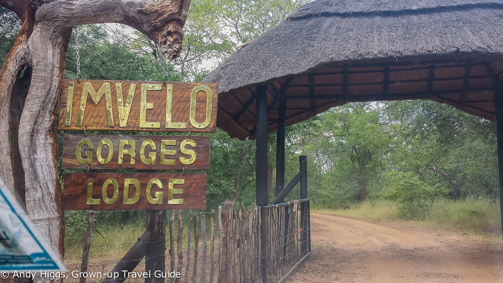 Gorges Lodge sign