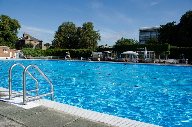 Brockwell Lido London England Grown Up Travel Guide Daily Photo