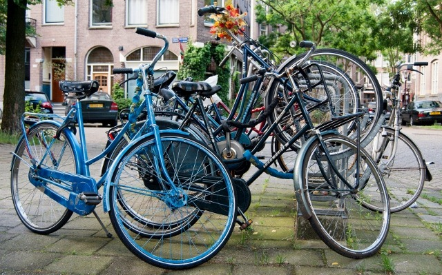 Read more about the article Grown-up Travel Guide Daily Photo: Bicycles, Amsterdam, the Netherlands