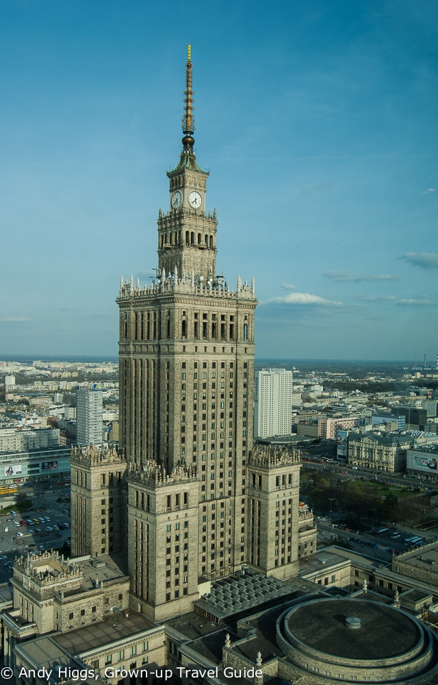 Read more about the article Grown-up Travel Guide's Best Photos: Palace of Culture and Science, Warsaw, Poland