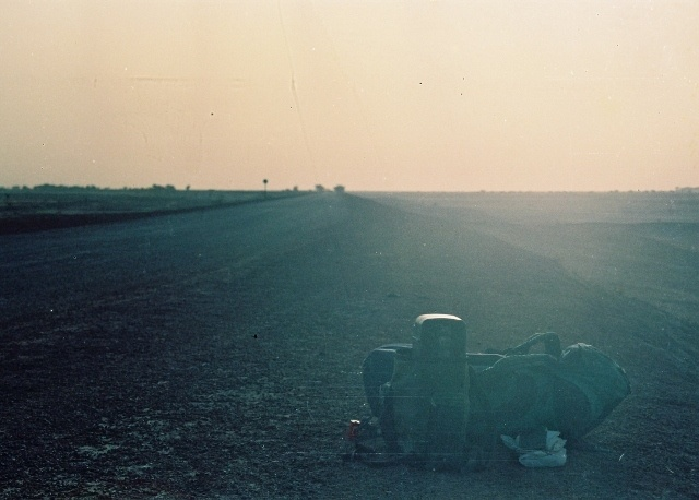 Read more about the article Retro Travel Photo – Before We Grew Up: Hitch-hiking through the Sahara, Ghardaïa, Algeria