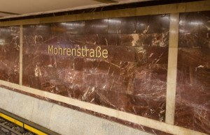 Read more about the article Grown-up Travel Guide Daily Photo: Mohrenstrasse U-Bahn station, Berlin, Germany