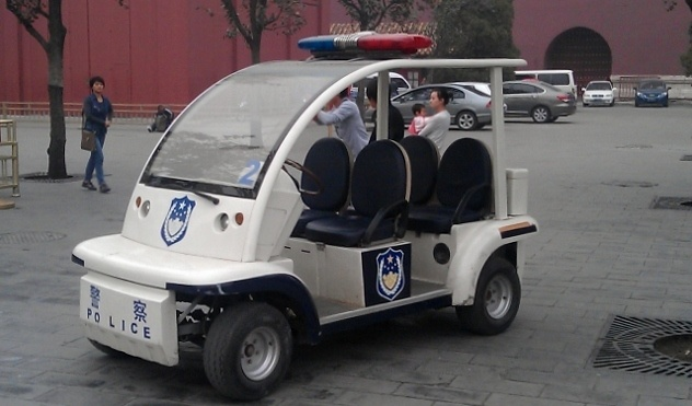 Read more about the article Grown-up Travel Guide Daily Photo: Police car, Beijing, China