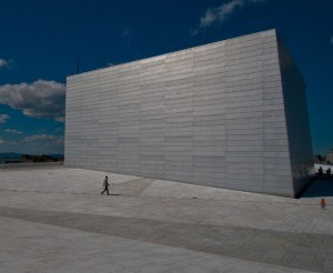 Read more about the article Grown-up Travel Guide Daily Photo – On the roof of the Opera House, Oslo, Norway