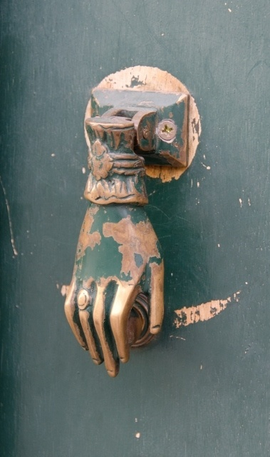 Door knocker, Braga, Portugal