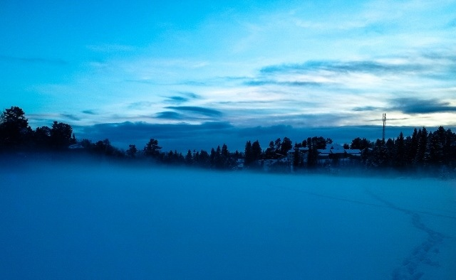 Read more about the article Grown-up Travel Guide Best Photos: Walking on a frozen lake, Trondheim, Norway