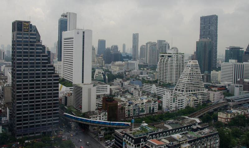 Stormy Monday in Bangkok