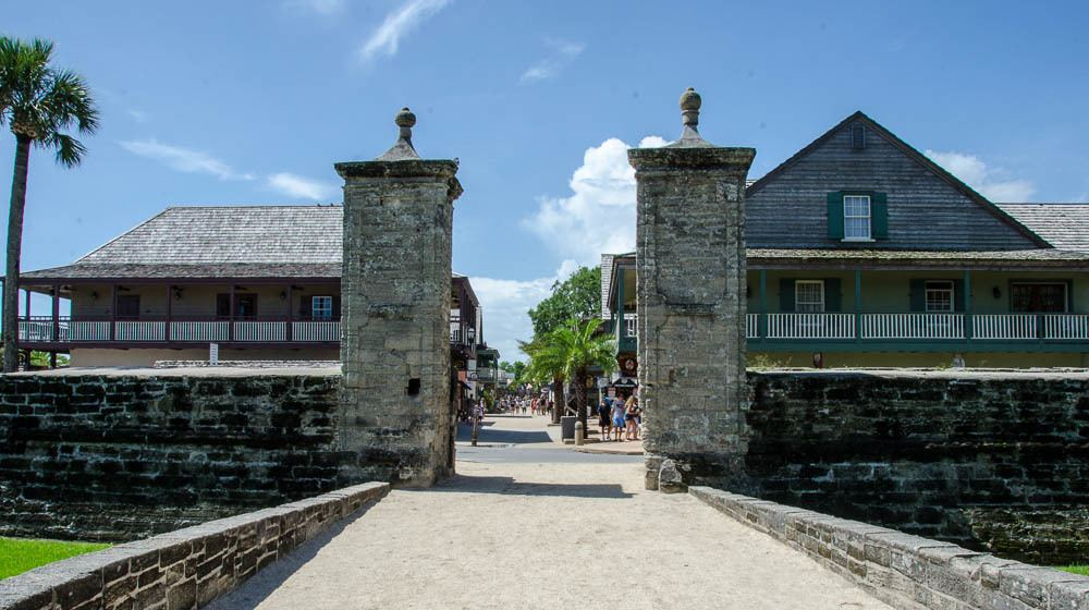 Read more about the article Grown-up Travel Guide Daily Photo: Old City Gates, St. Augustine, USA