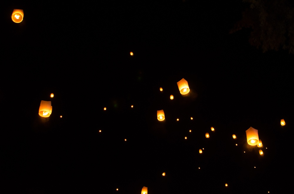 New Year lanterns