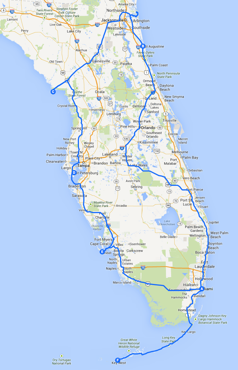Read more about the article Introduction: A three week road trip around Florida