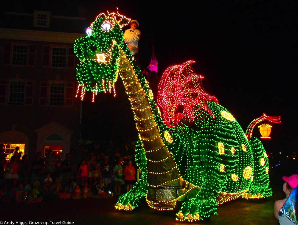 guide daily photo disney electrical parade orlando usa theme disney