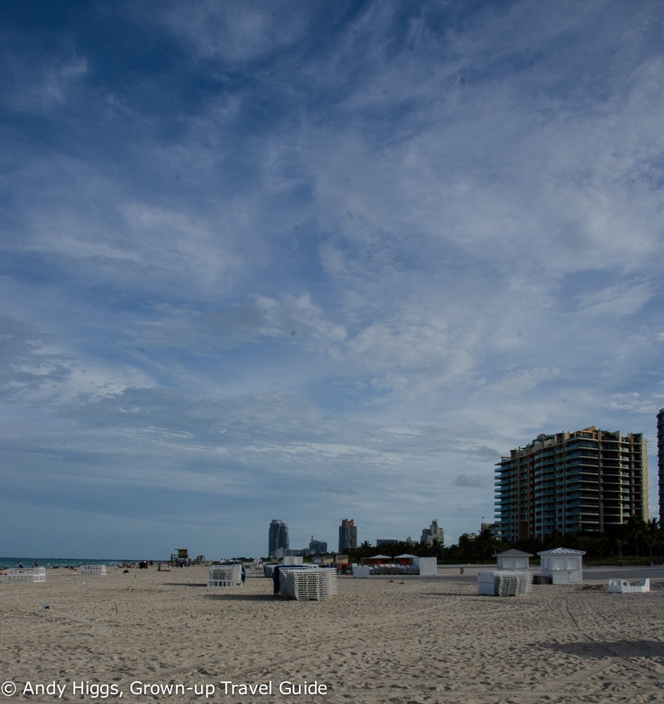 Miami beach big sky