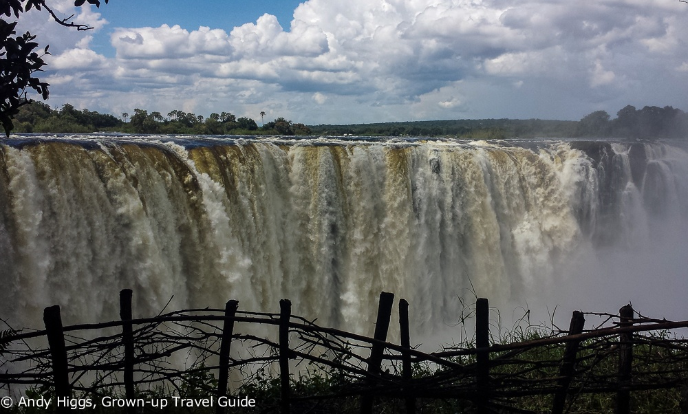 Vic Falls from Rainforest Park