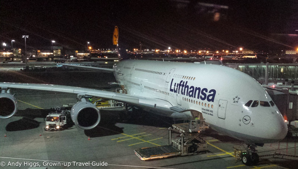 A380 ready for departure