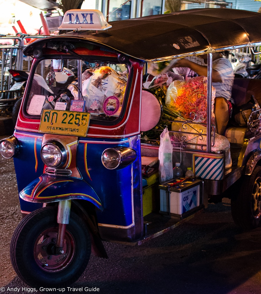 Read more about the article Bangkok by night – and by tuk-tuk