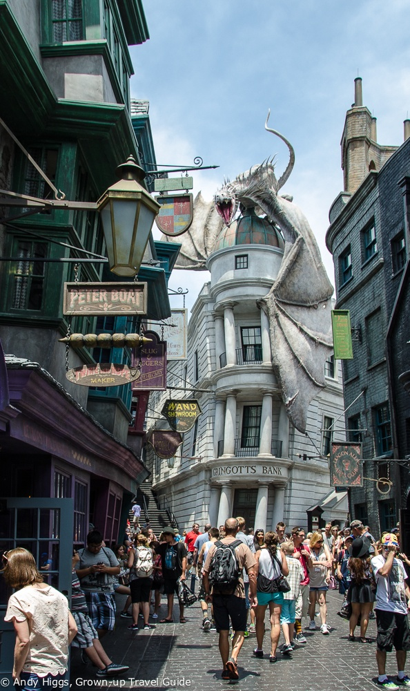 The Ultimate Harry Potter Experience Diagon Alley