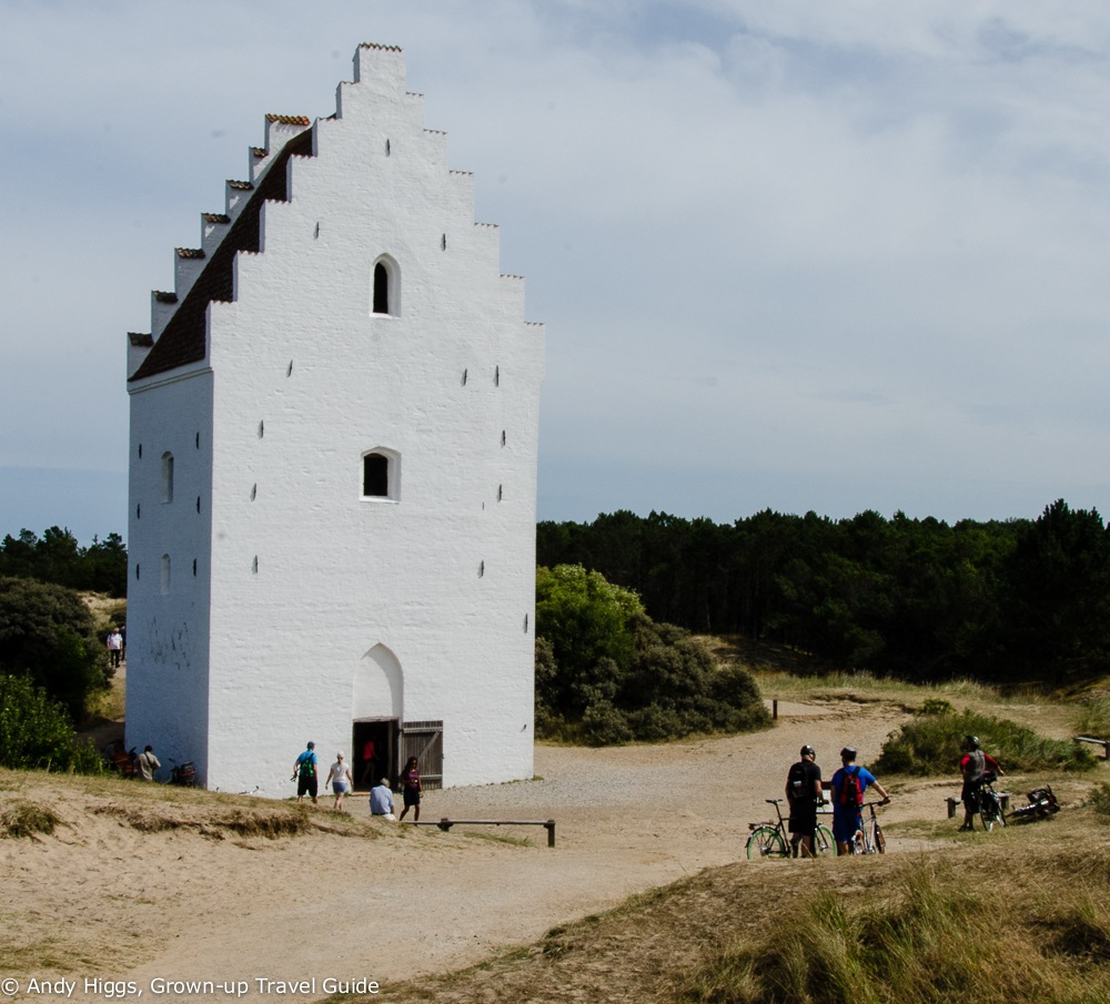Sand-buried church, Skagen, Denmark