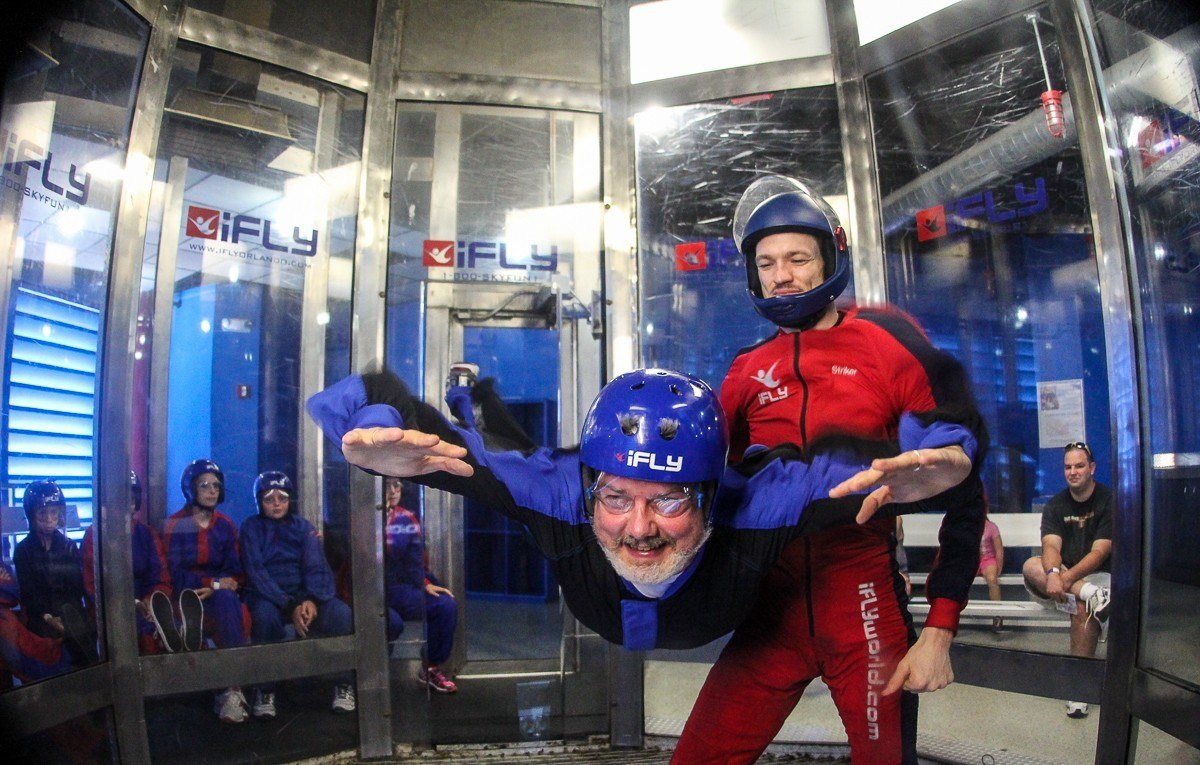 Read more about the article Flying without wings – and indoors – at iFLY Orlando