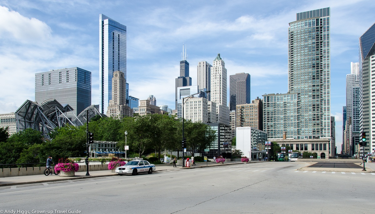 Read more about the article Grown-up Travel Guide's Best Photos: Downtown skyline, Chicago, USA