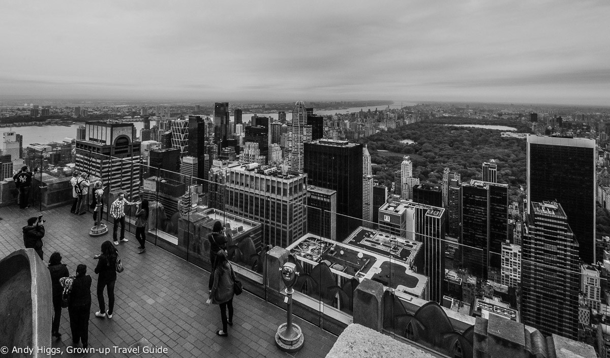Read more about the article Grown-up Travel Guide's Best Photos: Top of the Rock, New York, USA