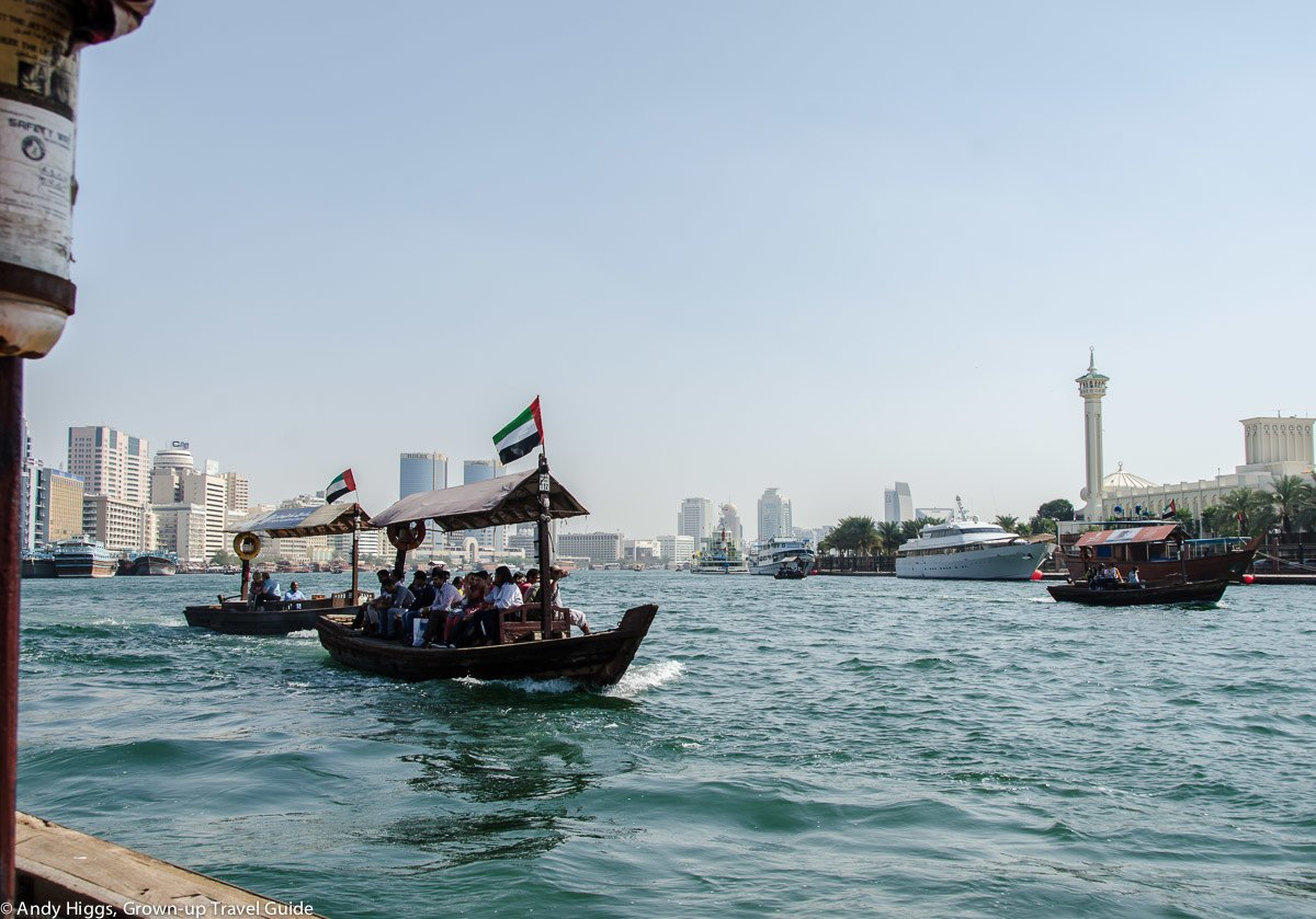 Read more about the article Grown-up Travel Guide's Best Photos – Abra ride across the Creek, Dubai, UAE