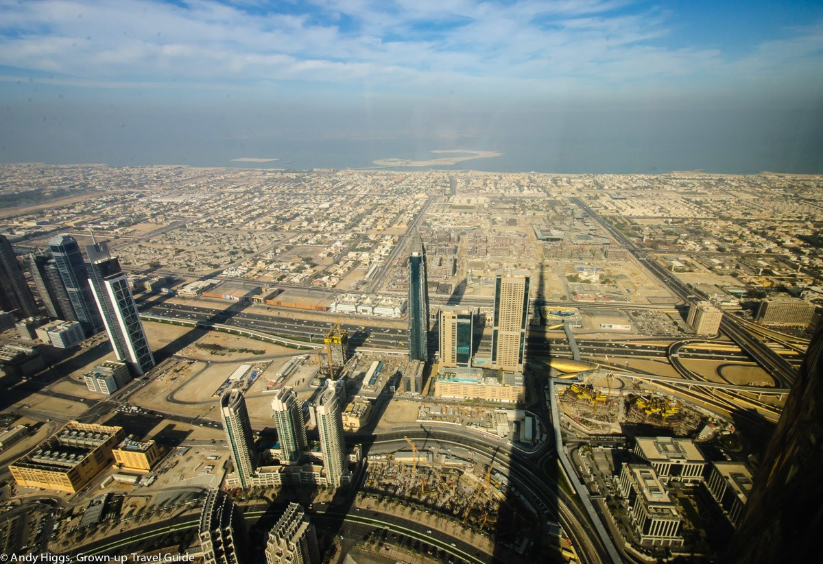 Read more about the article Grown-up Travel Guide's Best Photos – Shadow of the Burj Khalifa, Dubai, UAE