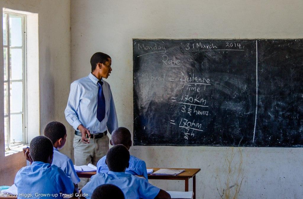 Ngamo High Classroom
