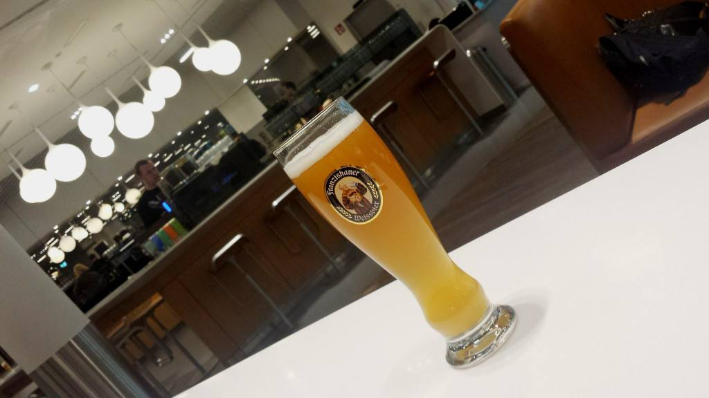 Beer in lounge