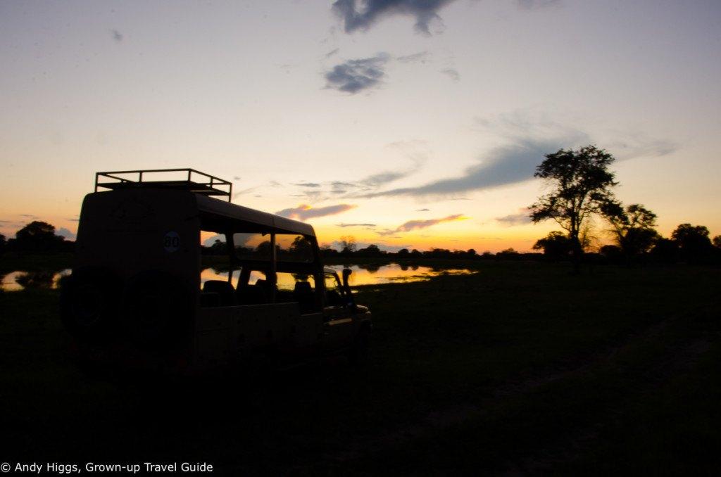 Sundowner silhouette