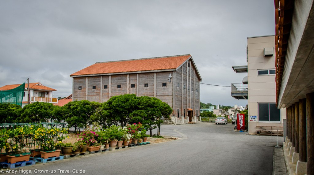 Awamori storehouse