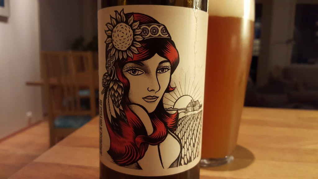 Grown-up Travel Guide Beer Diary - Day 264: Julie India Saison from Amundsen Bryggeri of Oslo, Norway