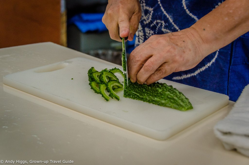 Cutting goya