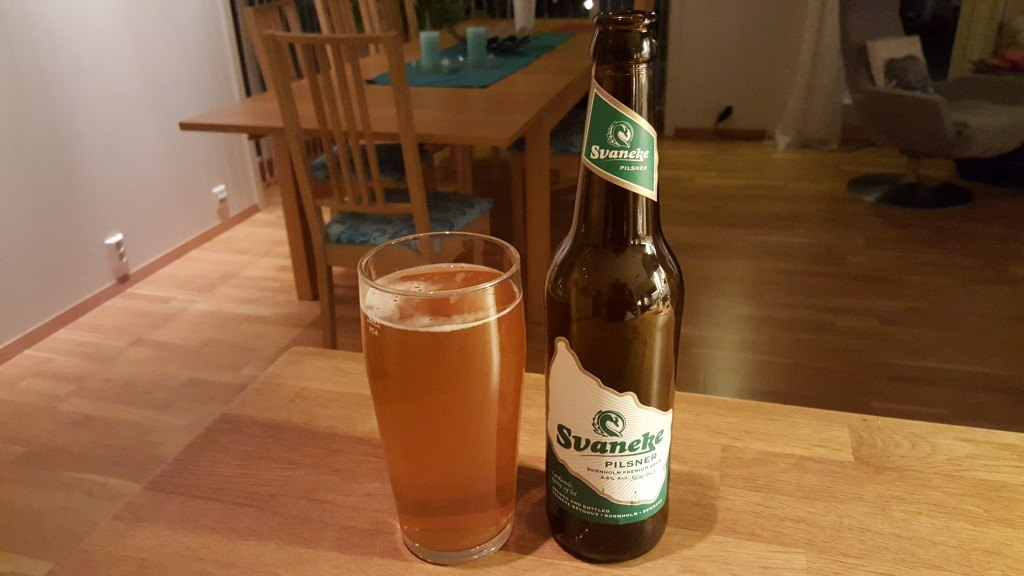 Grown-up Travel Guide Beer Diary - Day 328: Pilsner from Svaneke of Bornholm, Denmark
