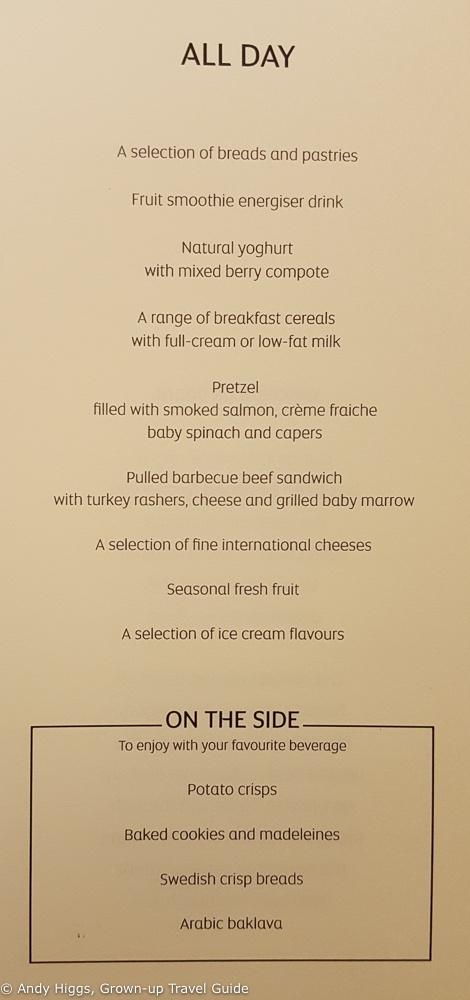 Joburg menu 1